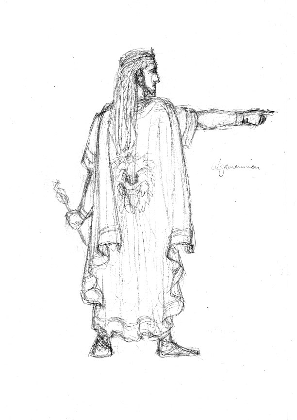 Odysseus Sketch Gallery